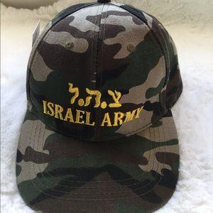 ISRAEL ARMY NWT CAMO BASEBALL HAT